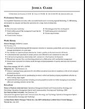 Example Modern Resume Template Resume Template Styles Resume Templates Myperfectresume