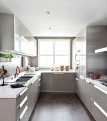 Large Kitchen Layout Kitchen White U Shaped Kitchens Design Layout With Island White