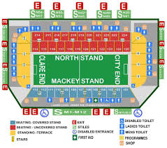 Fitzgerald Stadium Seating Chart Car Parking Archives Mayoclub51 Com