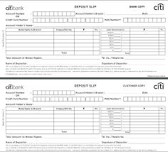 Deposit Templates Bank Deposit Slip Template Excel Word And Cash Denomination