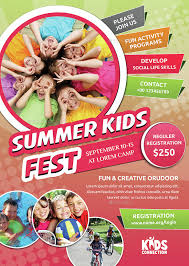 Summer Camp Flyer Template Magnificent 44 Microsoft Word Brochure Template Kids Summer Film Camp