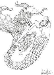 Pin Di Daniela Su Sirene Dipinti Sirena Disegni Da Colorare E