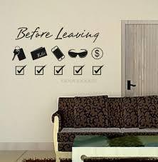 Diy Decoration For Bedroom Aliexpresscom Buy New 2015 Diy Door Stickers Before Leaving
