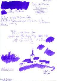 Violette Tendresse Waterman En Inksnibs