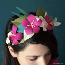 Paper Flower Headbands Flower Headband Gallery Craftgawker