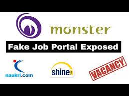 Shine Job Posting Fake Job Portals Exposed 2019 Indeed Shine Com Monster