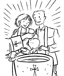 Small Picture baptism coloring page 100 images baptism of jesus coloring
