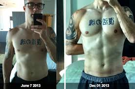intermittent fasting and leangains 6 month transformation