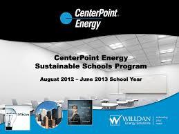 Program Overview Centerpoint Energy
