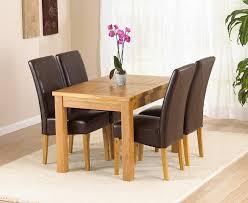oak extending dining table 4 chairs. rustique oak 120cm extending dining table set 4 chairs