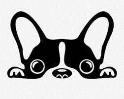 cute french bulldog clipart. Plain French French Bulldog Dog Silhouettes SVG DXF EPS Clipart Vector Cricut Cut  Cutting File Animal Pet Puppy For Cute Bulldog U