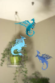 hanging dragons room decoration game of