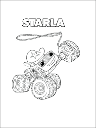 Blaze Coloring Pages To Print Blaze Coloring Sheets Blaze Coloring