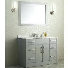 bathroom vanity with quartz countertop single sink bathroom vanity taupe grey quartz 48 bathroom vanity with
