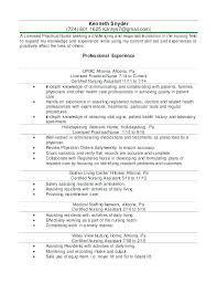 Lpn Nursing Resume Examples Simple Resume Format