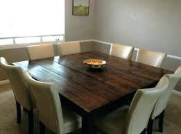 10 person round table dining room enchanting 8 person round table for square small square dining 10 person round table