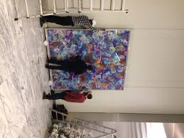 large wall art we had a team of four of our staff members handling the piece which reached nearly ten feet high  on hang ten wall art with how to hang really large wall art ilevel