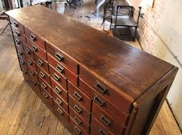industrial furniture hardware. Fabulous Vintage Industrial Wood Hardware Multi Drawer Storage Apothecary With Cabinet. Furniture E