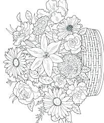 Coloring Pages Flowers Printable Zupa Miljevcicom