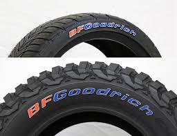 Bfg Tire Size Chart Official Bfgoodrich Tire Letters