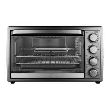 open box black decker rotisserie convection countertop toaster oven t04314ssd only