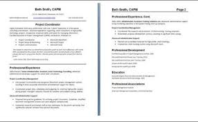 Examples Of One Page Resumes Examples Of 2 Page Resumes Two Resume
