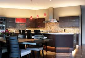 counter lighting kitchen. Well-lit Kitchen With Pendants And Under Cabinet Lighting Counter