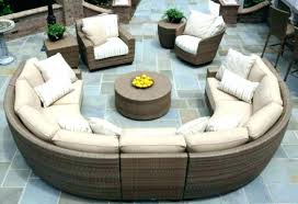 adorable curved outdoor sectionals sofa wicker sectional furniture plans
