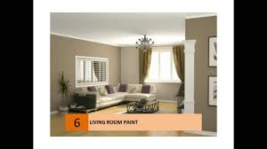 What Colour To Paint Living Room Living Room Paint Ideas Colors Youtube