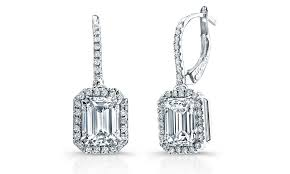 diamond earring collection diamond stud earrings diamond dangle emerald cut diamond earrings