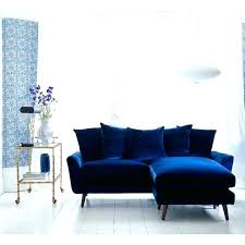 royal blue velvet couch blue velvet sectional awesome home spacious royal blue velvet sofa on diffe