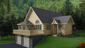 this log home kit is an entertainer s dream large kitchen area is open to a