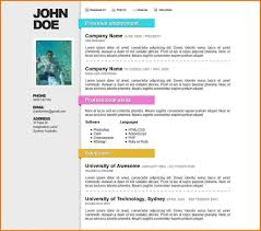 Resume Layout Examples best resume layout most professional editable resume templates 47