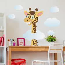 Wandtattoo Giraffe Lustige Giraffe