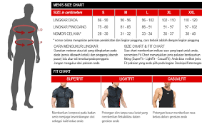 Size Chart And Fit Level Guide