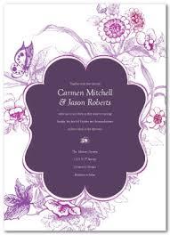 Wedding Invitations Templates Purple Printable Sophisticated Wedding Invitation Template
