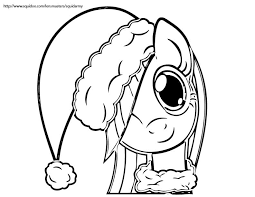 Small Picture My Little Pony Coloring Pages christmas Coloring Kids