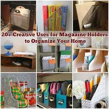 Magazine Holder Uses 100 Creative Uses for Magazine Holders to Organize Your Home 1