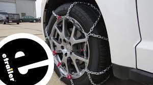 Etrailer Konig Standard Snow Tire Chains Installation