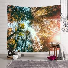 us fairy forest hanging wall tapestry bohemian hippie