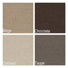 brookline luxury indoor pure wool area rug collection 3 8 thick cut pile customize your size