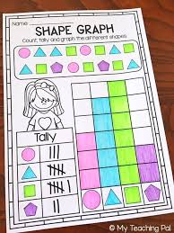 Data and Graphs Worksheet Pack - First Grade | Tally chart, Tally ...