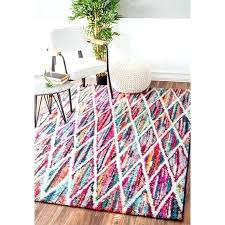 contemporary rainbow kids rug as round area rugs nuloom 8x10 accent 8 x 10