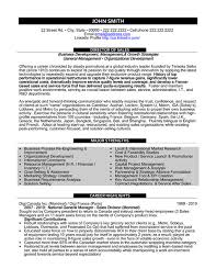 Sample Resume Sales And Marketing Adorable Top Sales Resume Templates Samples