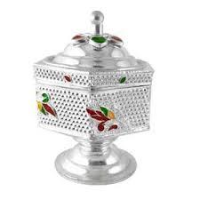 designed silver pottery