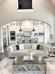 Beautiful Homes of Instagram (Home Bunch - An Interior Design & Luxury  Homes Blog). Open Living Room KitchenWhite Living RoomsLiving Room Ideas  Grey ...