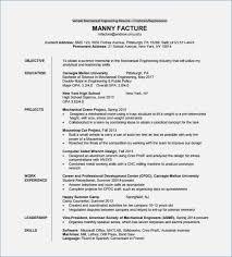 Mechanical Engineer Resume Pdf Download