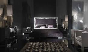 Contemporary black bedroom furniture White Wall Black Contemporary Bedroom As Interior Concept Home Design Inspiration Why Not Choose Contemporary Black Bedroom Furniture Set As Your