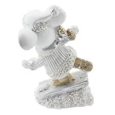 <b>Новогодняя</b> фигура <b>Monte</b> Christmas Мышонок на льду 11 см в ...