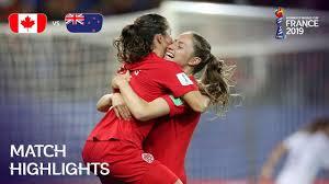 Canada v <b>New</b> Zealand | FIFA <b>Women's</b> World Cup France <b>2019</b> ...